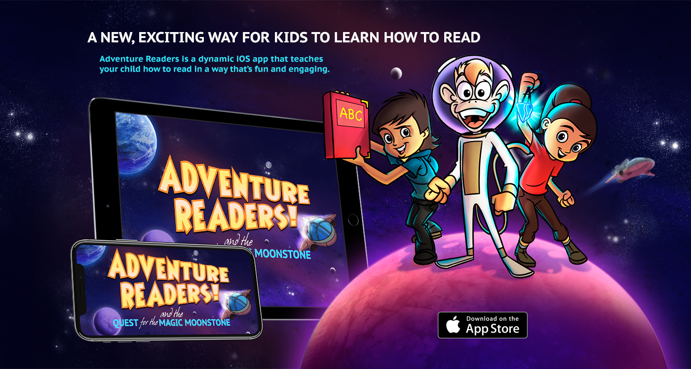 Adventure Readers | Reading & Learning Games for Kids